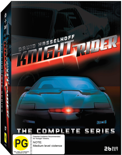 Knight Rider - Complete Collection - 26DVD *USED*