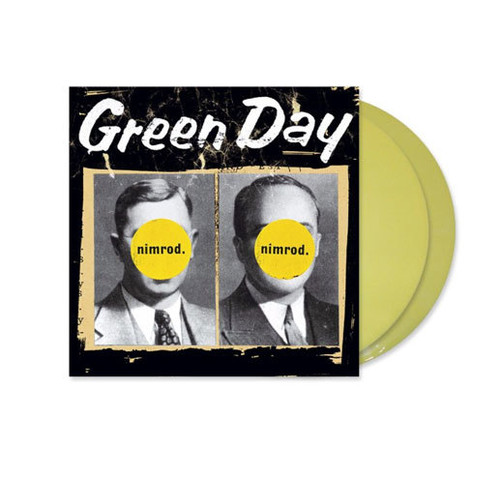Green Day ‎– Nimrod. (Yellow Transparent Vinyl) - 2LP *NEW*