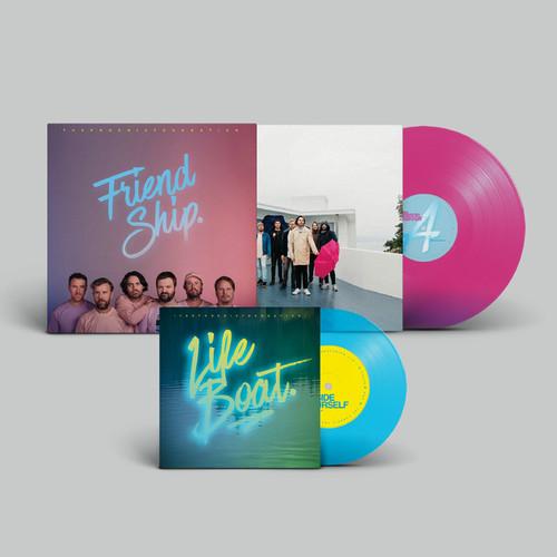 "The Phoenix Foundation - Friend Ship (Pink LP & Turquoise - 7"") - LP *NEW*"