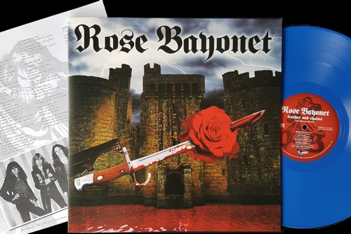 Rose Bayonet - Leather And Chains (Limited Blue Vinyl) - LP *NEW*