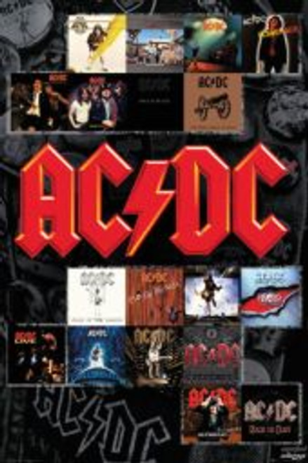 ACDC Album Covers - POSTER *NEW*
