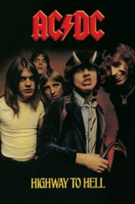ACDC Highway To Hell - POSTER *NEW*