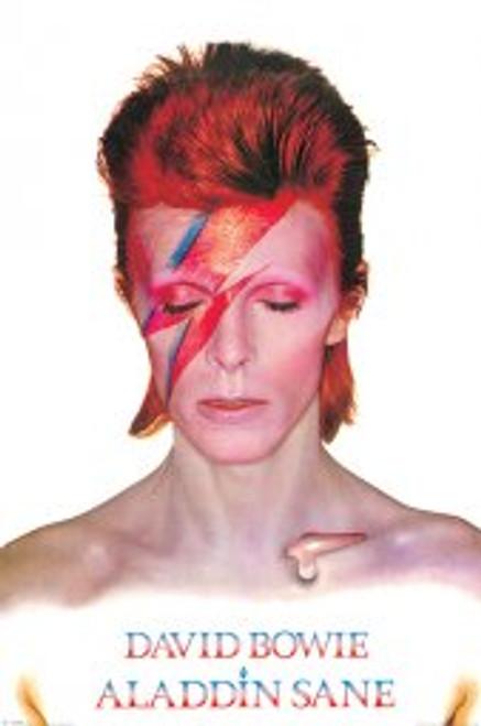 David Bowie Aladinsane - POSTER *NEW*