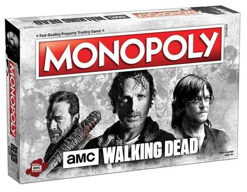 Walking Dead AMC Monopoly 8NEW*
