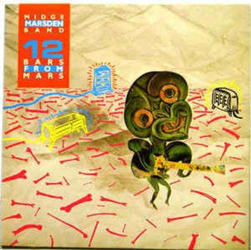 Midge Marsden Band – 12 Bars From Mars (NZ) - LP *USED*