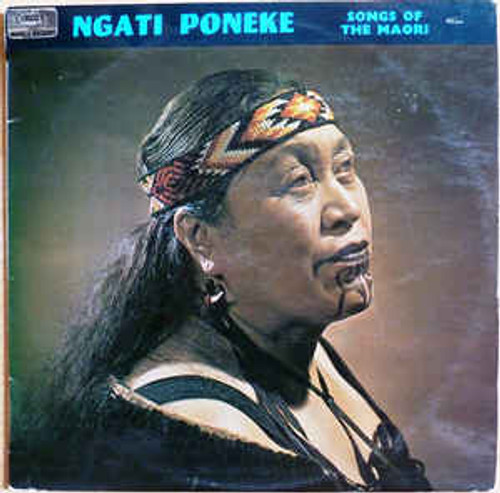 Ngati Poneke – Songs Of The Maori (NZ) - LP *USED*