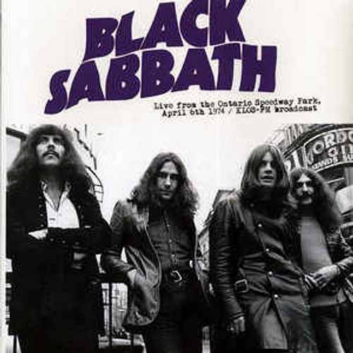 Black Sabbath ‎– Live From The Ontario Speedway Park, April 6th 1974: KLOS-FM Broadcast - LP *NEW*