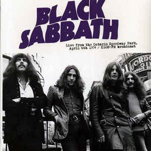 Black Sabbath – Live From The Ontario Speedway Park, April 6th 1974: KLOS-FM Broadcast - LP *NEW*
