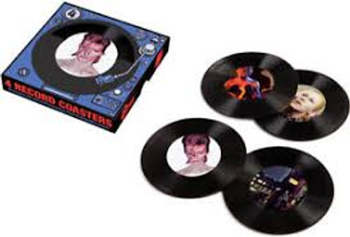David Bowie _ 45 Record Coasters - 4PK *NEW* - Sold Out