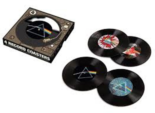 Pink Floyd _ 45 Record Coasters - 4PK *NEW* - Sold Out
