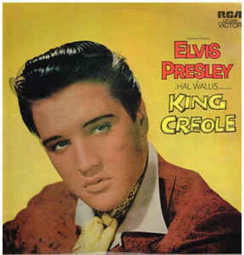 Elvis Presley – King Creole (AUSTRALASIA) - LP *USED*