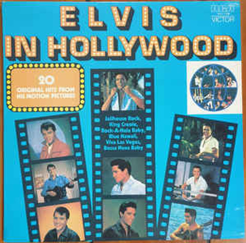 Elvis Presley ‎– Elvis In Hollywood (NZ) - LP *USED*