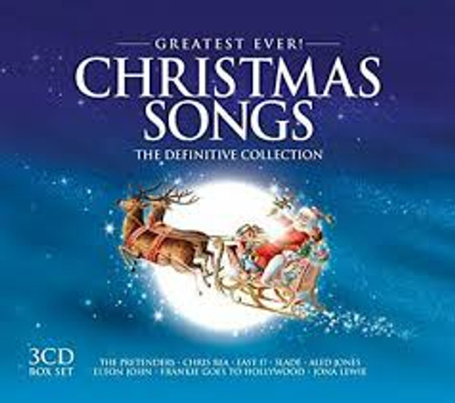 Greatest Ever! Christmas Songs - The Definitive Collection - Various -  3CD *NEW*
