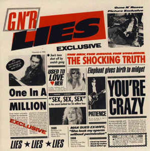 Guns N' Roses ‎– G N' R Lies - CD *NEW*