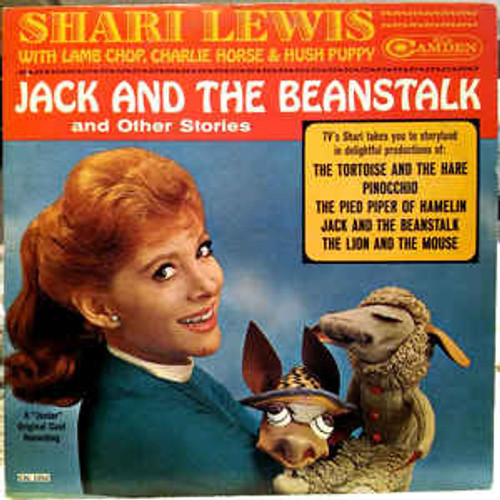 Shari Lewis ‎– Jack And The Beanstalk And Other Stories (NZ) - LP *USED*