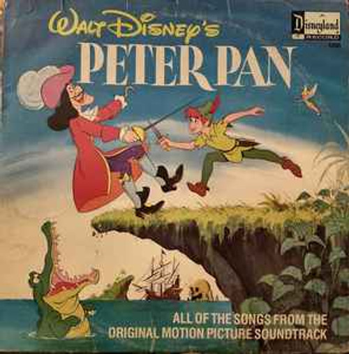 Unknown Artist ‎– Walt Disney's Peter Pan (NZ) - LP *USED*