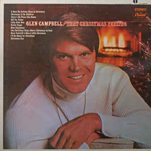 Glen Campbell ‎– That Christmas Feeling (NZ) - LP *USED*