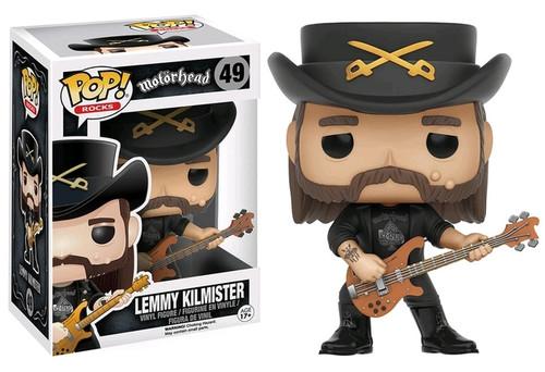 Motorhead - Lemmy Kilmister Pop! Vinyl Figure #49 *NEW*