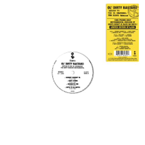 Ol' Dirty Bastard - Return to the 36 Chambers: The Dirty Version (The Instrumentals) - 2LP *NEW* RSD BF 2020