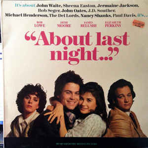 """About Last Night..."" Music From The Motion Picture (AUSTRALASIA) - Soundtrack - LP *USED*"