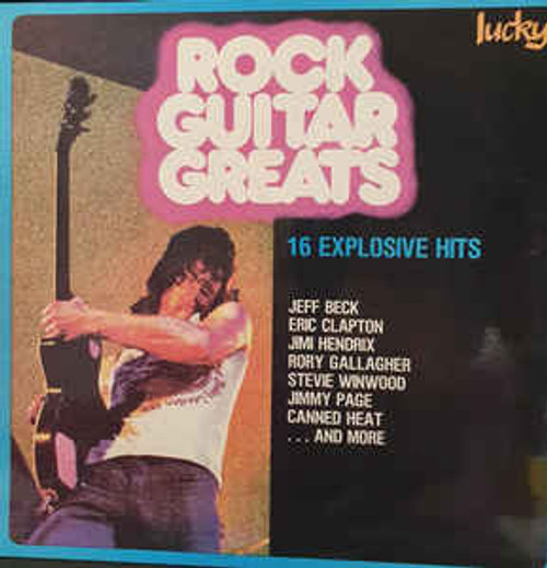 16 Rock Guitar Greats (NZ) - Various - LP *USED* - Sold Out