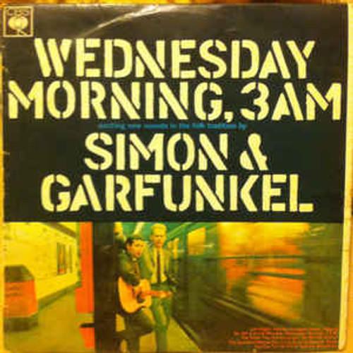 Simon & Garfunkel – Wednesday Morning, 3 A.M. (NZ) - LP *USED*