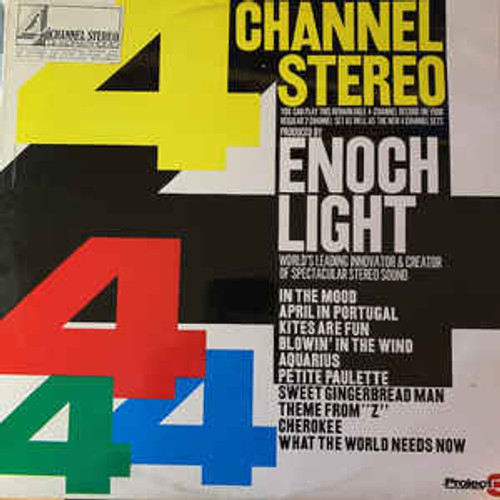 Enoch Light – 4 Channel Stereo Quadraphonic (AU) - LP *USED*