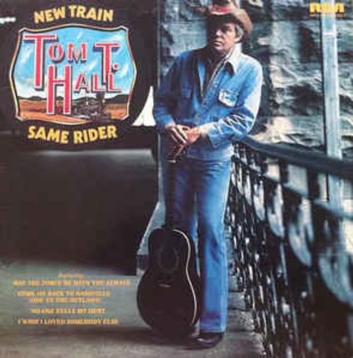 Tom T. Hall – New Train Same Rider (AU) - LP *USED*