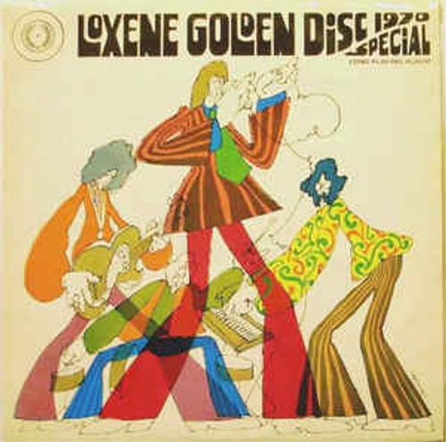 1970 Loxene Golden Disc Award - Top Twelve - Various (NZ) - LP *USED*