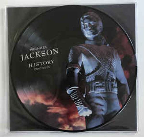Michael Jackson – HIStory Continues (Pic Disc) - 2LP *NEW*