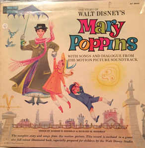 The Story Of Walt Disney's Mary Poppins (UK) - Various - LP *USED*