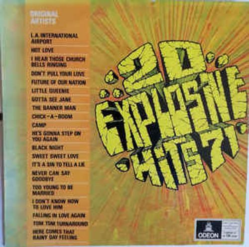 20 Explosive Hits 71 (NZ) - Various - LP *USED*