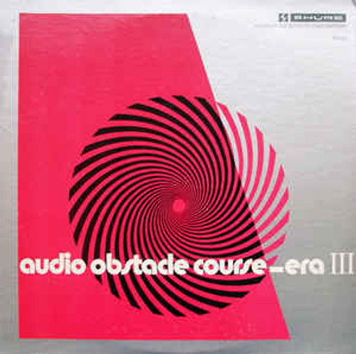 Audio Obstacle Course - Era III - The Shure Trackability Test Record - Vaious - LP *USED*