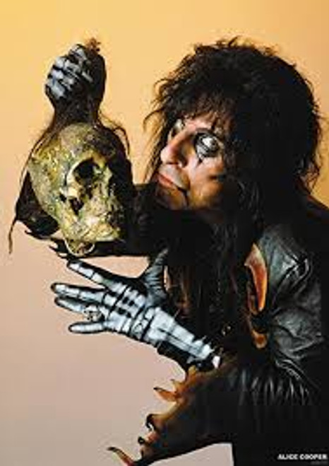 Alice Cooper and Skull - POSTER *NEW* #45