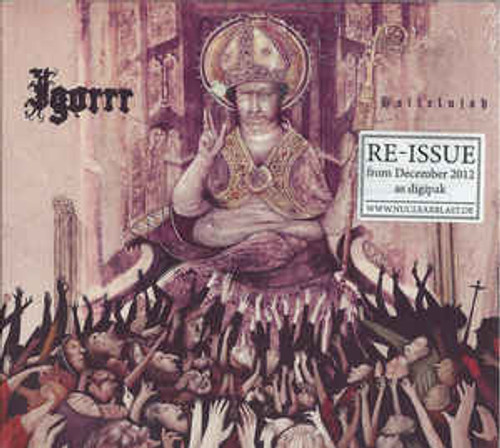Igorrr ‎– Hallelujah (Digipak) - CD *NEW*