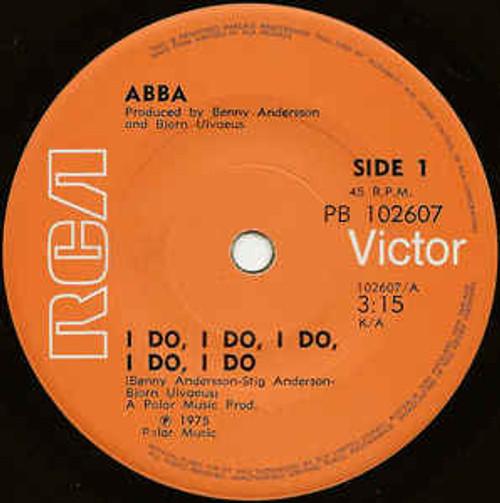ABBA – I Do, I Do, I Do, I Do, I Do - 7' *USED*