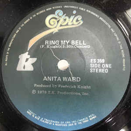 "Anita Ward – Ring My Bell - 7"" *USED*"