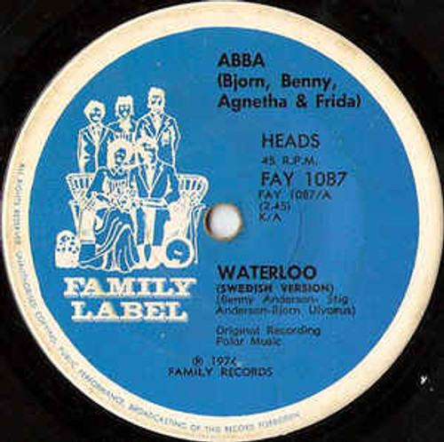 ABBA – Waterloo - 7' *USED*