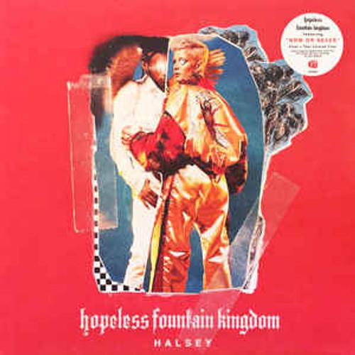 Halsey – Hopeless Fountain Kingdom (Clear w/ Teal Splatter) - LP *NEW*