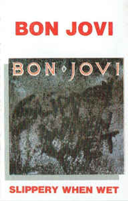 Bon Jovi ‎– Slippery When Wet - TC *USED*
