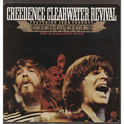 Creedence Clearwater Revival Featuring John Fogerty ‎– Chronicle - 20 Greatest Hits (UK) - LP *USED*