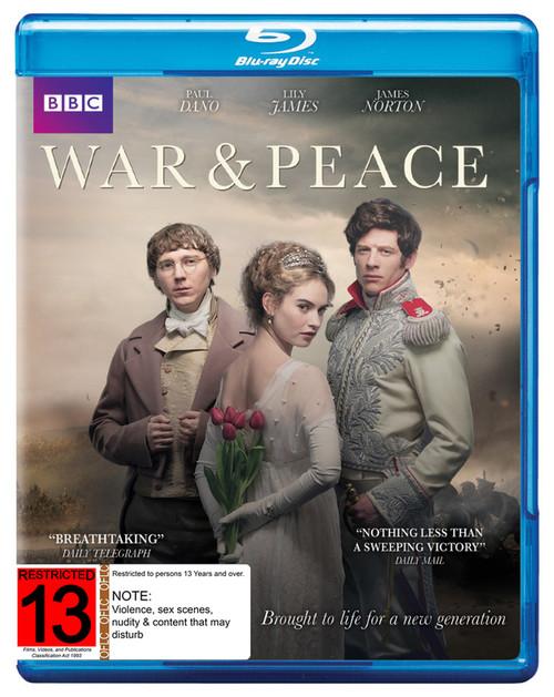 War And Peace Season 1 - BRD *NEW*