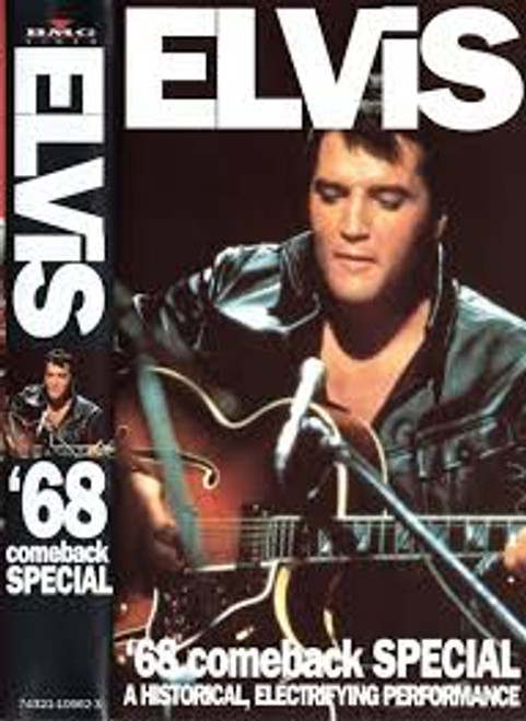 Elvis* – '68 Comeback Special - VHS *USED*