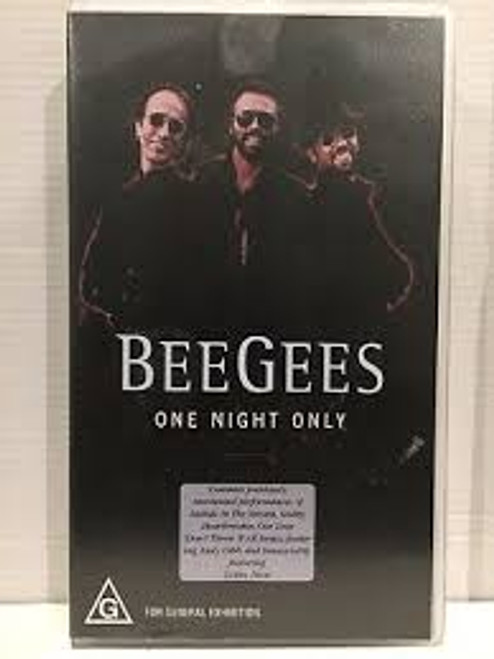Bee Gees - One Night Only - VHS *USED*