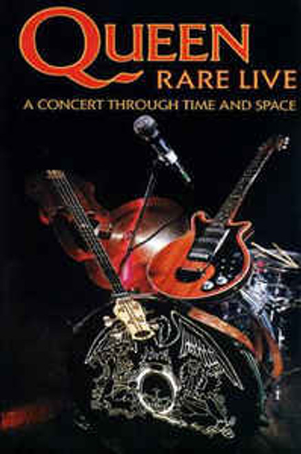 Queen ‎– Rare Live (A Concert Through Time And Space) - VHS *USED*