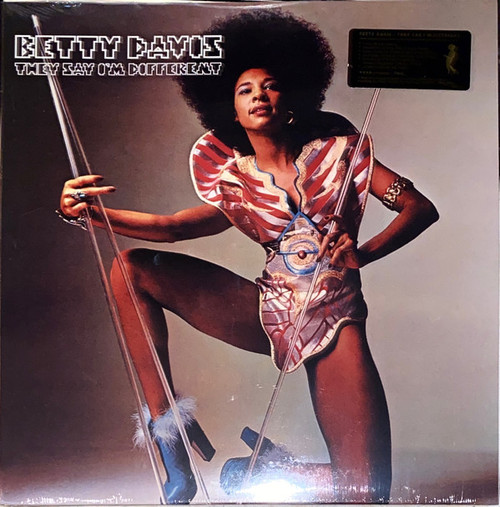 Betty Davis – They Say I'm Different - (Red Vinyl) - LP *NEW*