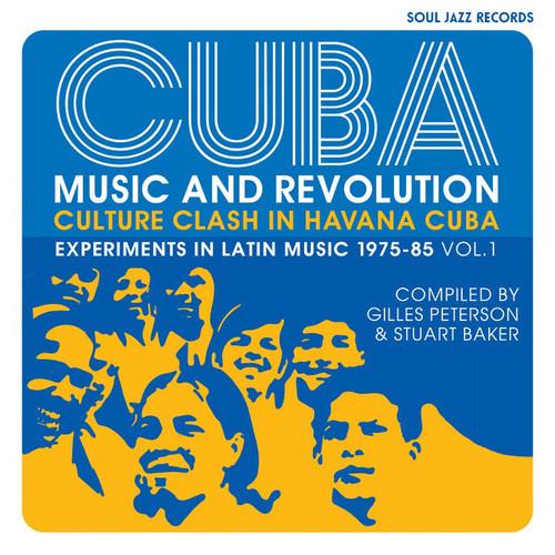 Cuba: Music and Revolution - Culture Clash In Havana Cuba - Experiments in Latin Music 1975-85 Vol. 1 - Various - 3LP *NEW*