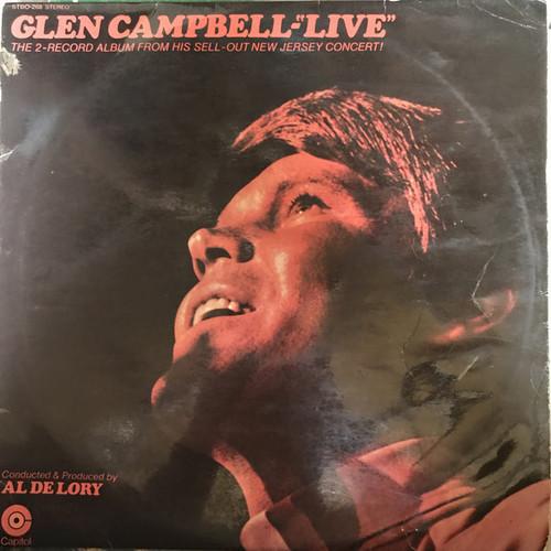"Glen Campbell – Glen Campbell ""Live"" (NZ) - 2LP *USED*"
