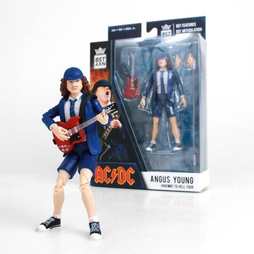 """Angus Young - 5"""" Action Figure *NEW*"""