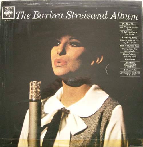 Barbra Streisand – The Barbra Streisand Album (UK) - LP *USED*